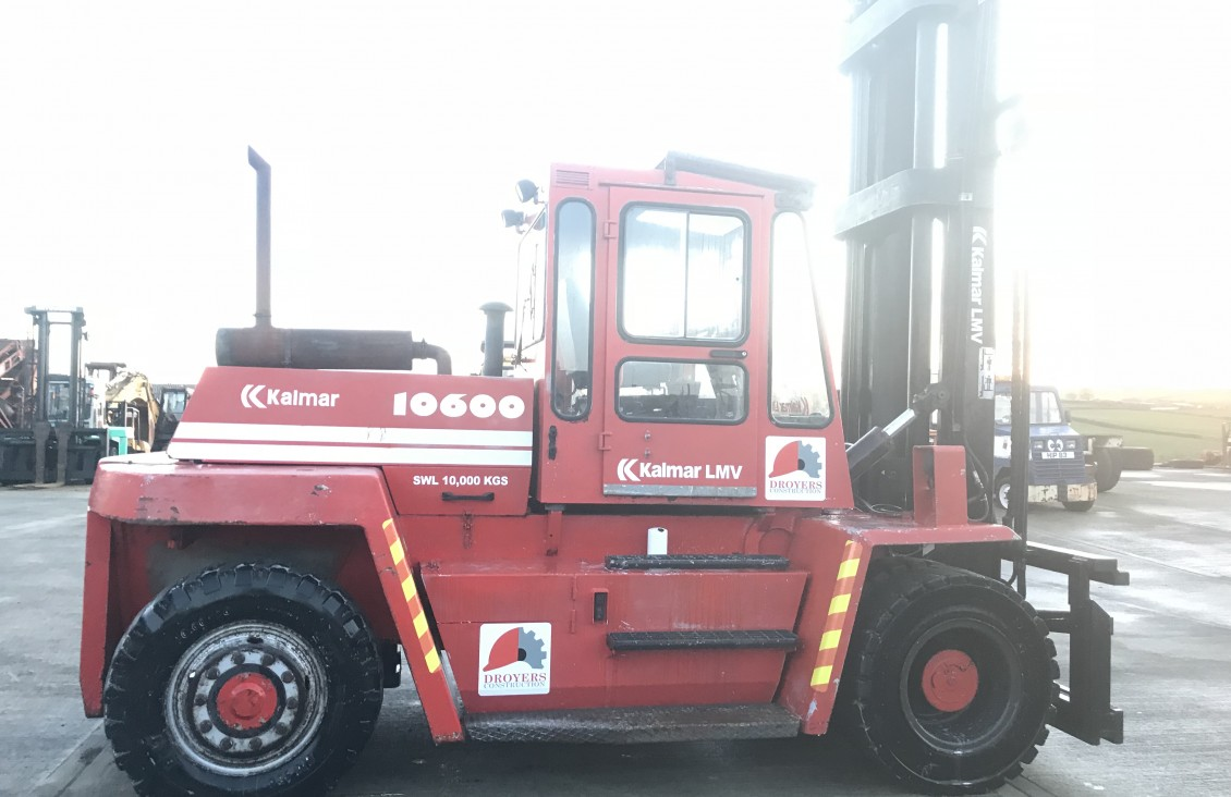 Kalmar 10600 Diesel Forklift 10 ton | Plantmaster UK