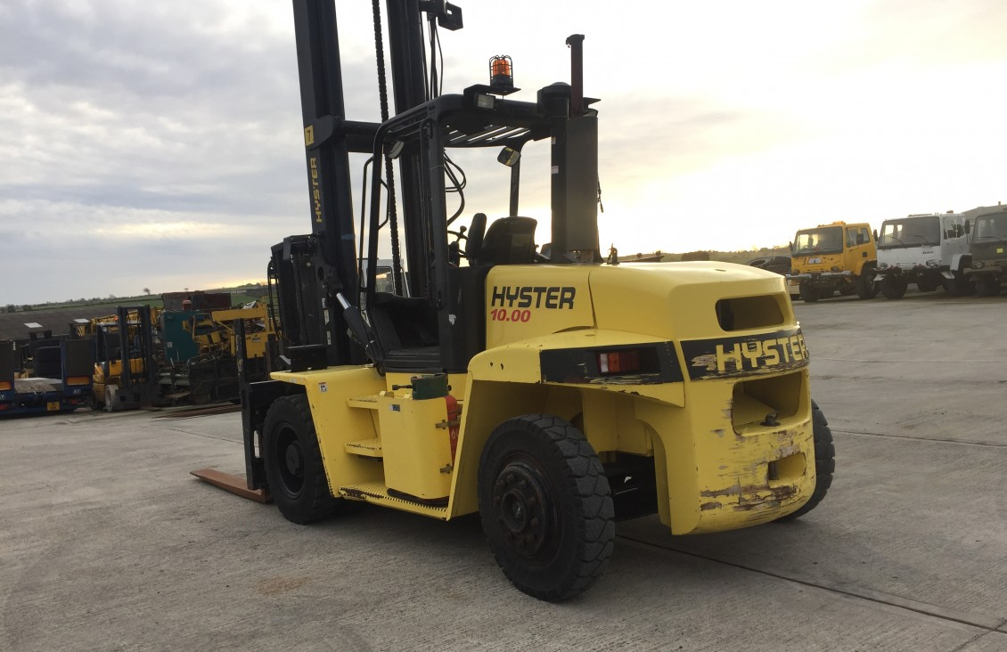10 Ton Fork Lift : Hyster h xm ton lpg forklift for sale in
