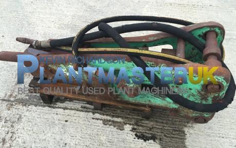 Montebert Hyd breaker to suit backhoe loader | uk plant traders
