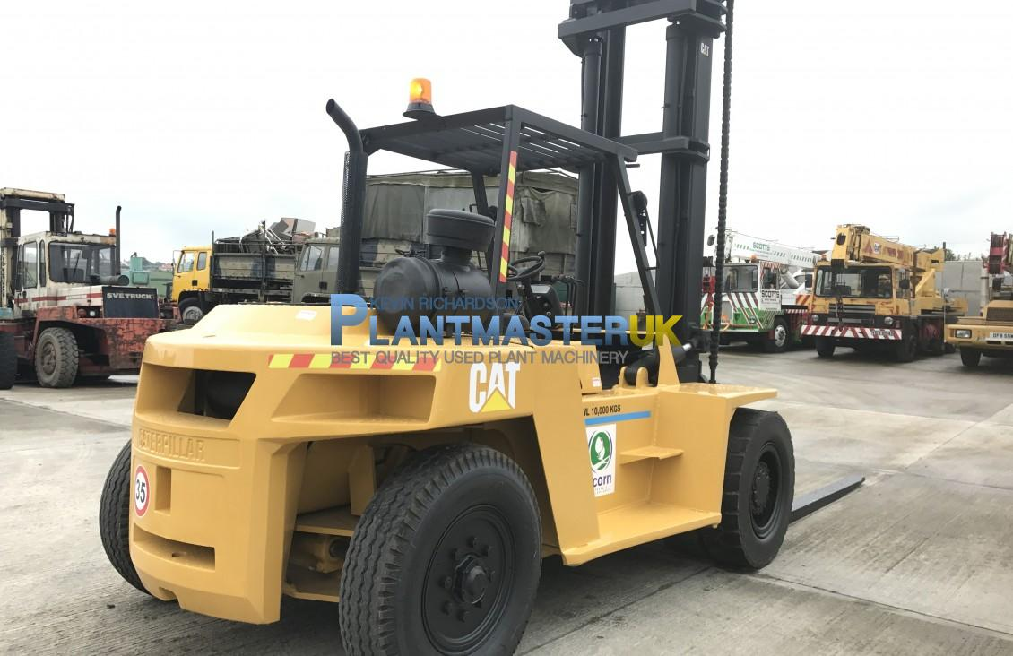 10 Ton Fork Lift : Caterpillar dp ton diesel forklift for sale