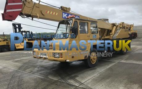 1985 Kato NK 140 15 ton 4×2 Truck crane   uk plant traders