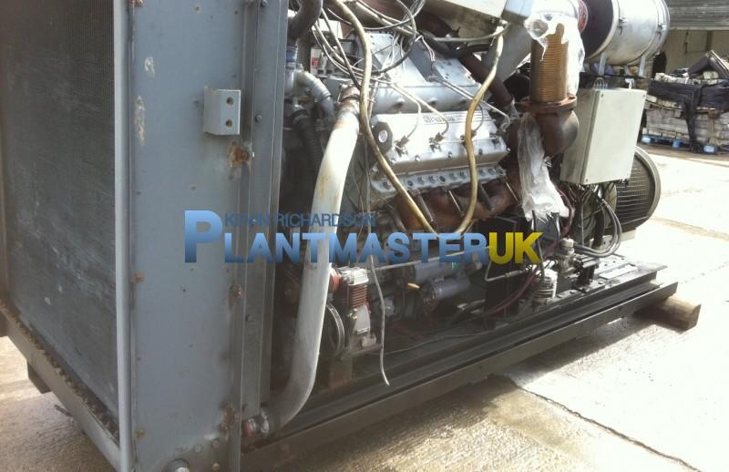 Perkins 300/8 Twin Turbo engine Skid Mounted Vacua   Plantmaster UK