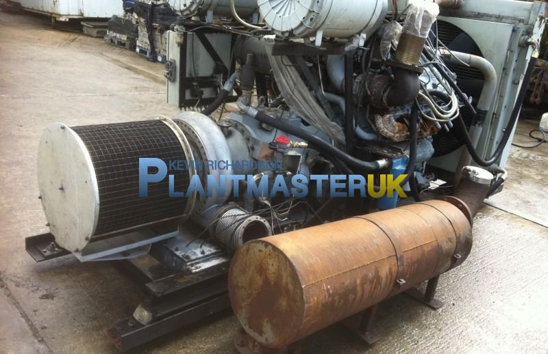 Perkins 300/8 Twin Turbo Engine Vacuam Unit | Plantmaster UK