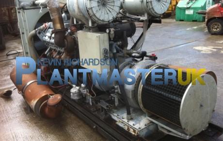 Perkins 300/8 Twin Turbo Engine Vacuam Unit | uk plant traders