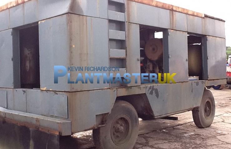 Compair 750 (750 cfm) Diesel Compressor | Plantmaster UK