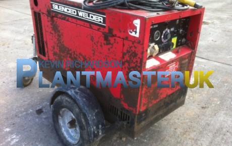 Petbow 300 amp Diesel Mobile Welder Generator | uk plant traders