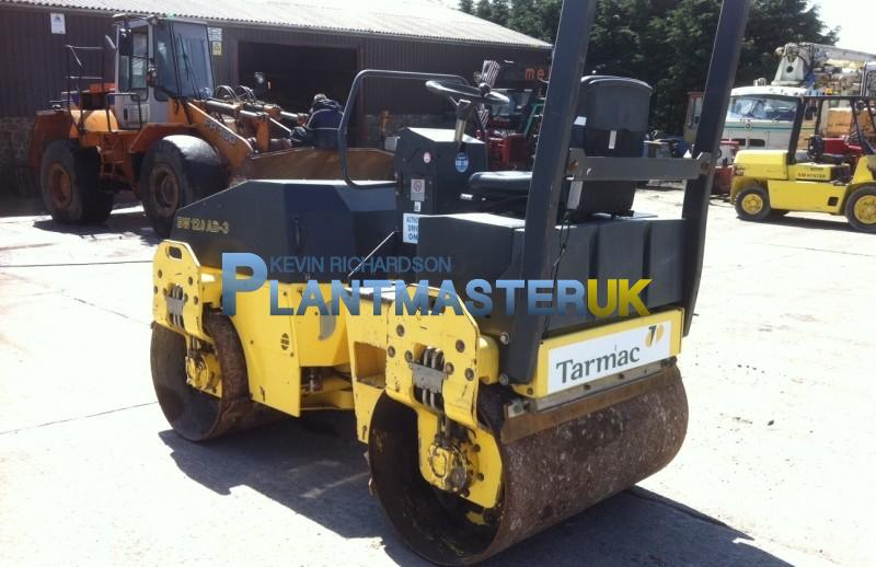 2003 Bomag BW 120 AD 3 Double Drum Roller | Plantmaster UK