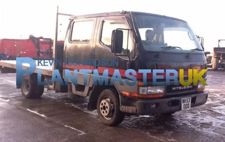Mitsubishi Canter HD 3.5 ton Crew Cab – Flat | uk plant traders