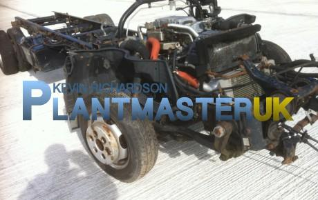 Mitsubishi Canter Rolling Chassis, year 2005 | uk plant traders