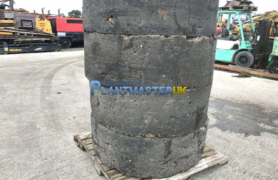 Used Solid 1600×25  wheels a tyres to suit CAT 938 for sale on Plantmaster UK