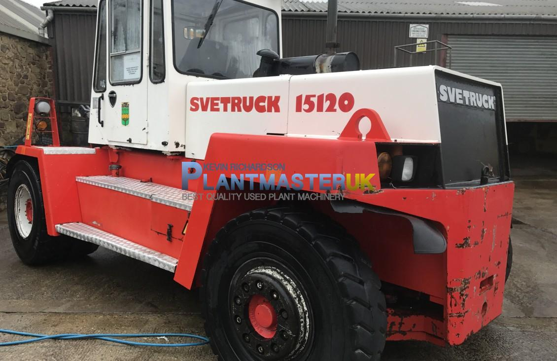 2000 SVE Truck 15/120 Diesel Forklift for sale| Plantmaster UK