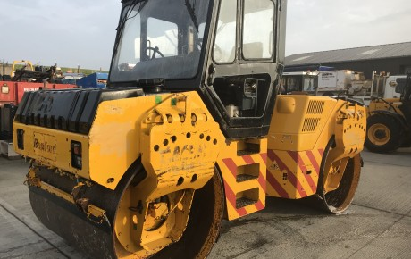 Terex Benford TV1700 Double Drum Vibrating roller | uk plant traders