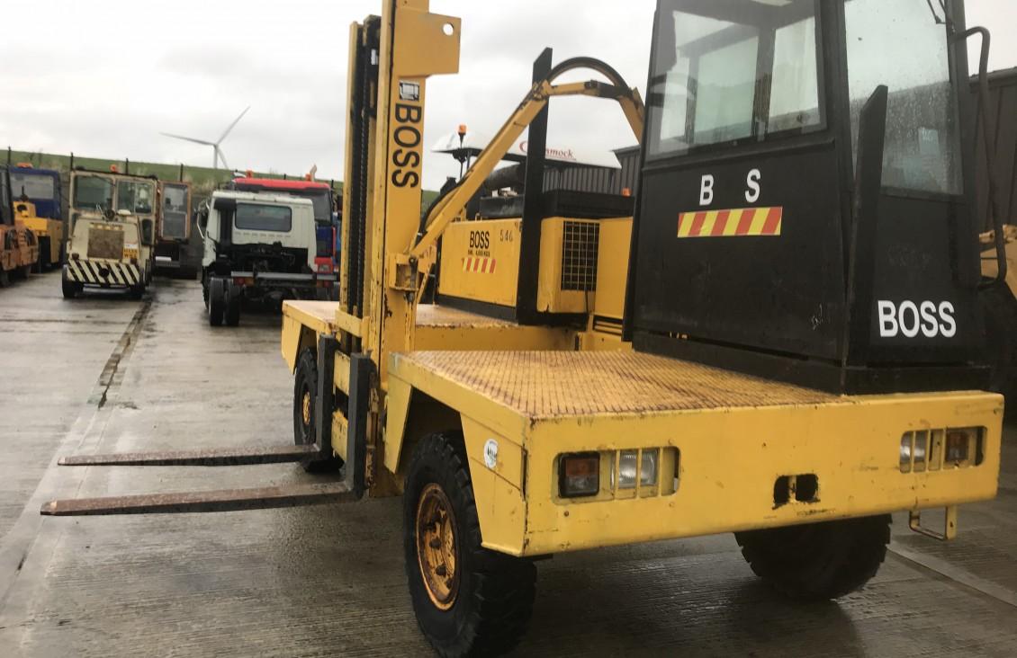 BOSS 546  Diesel Side loader Forklift for sale| Plantmaster UK