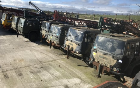 DAF 45/150 4×4 truck mounted waterwell rigs | uk planttraders.com