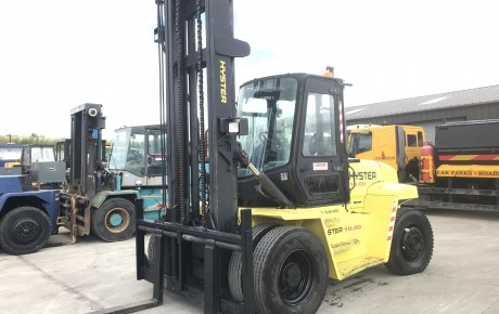Hyster H10.00 XM 10 ton diesel forklift | uk plant traders