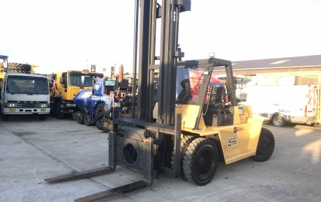 CAT V250 B 12 .5 ton diesel forklift | uk plant traders
