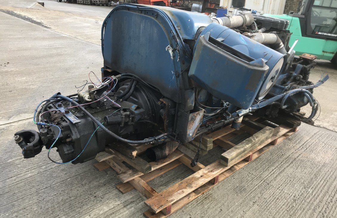 Cummins M11 Engine and manual transmission | Plantmaster UK