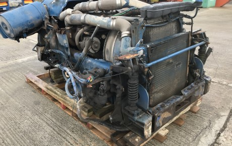 Cummins M11 Engine and manual transmission | uk plant traders