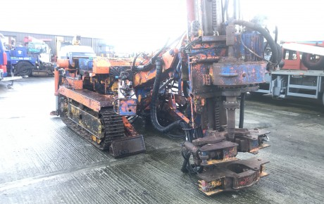 Casagrande C6 tracked drilling Rig | uk plant traders