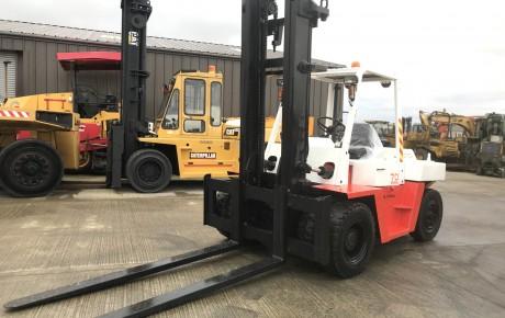 Nissan FD 70  7.5 ton diesel forklift | uk plant traders