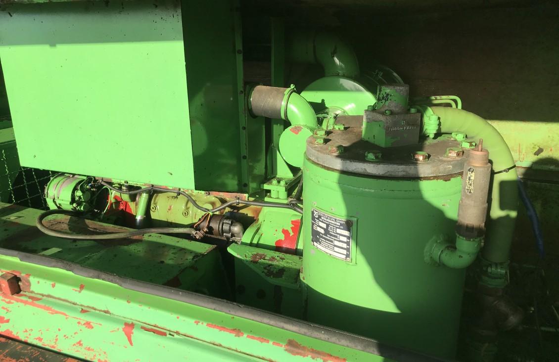 Used Sullair R70 diesel compressor 285 cfm for sale on Plantmaster UK