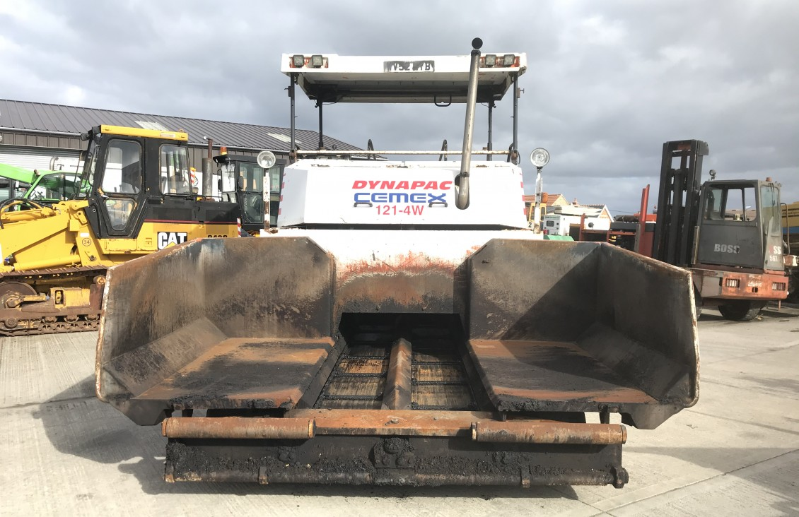 Dynapac CC121-4W Aspalt tarmac paver for sale| Plantmaster UK