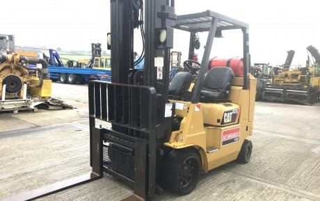 CAT GC45 K compact space saver forklift | uk plant traders