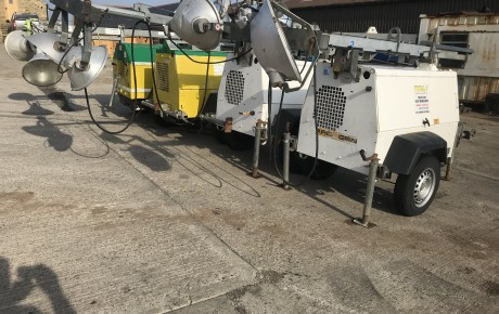 Terex and Arc Gen tower light generator s | uk plant traders