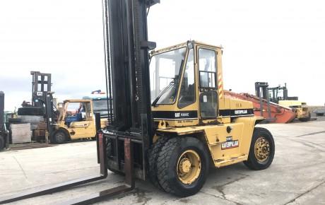 CAT V200 C diesel 10 ton forklift | uk plant traders