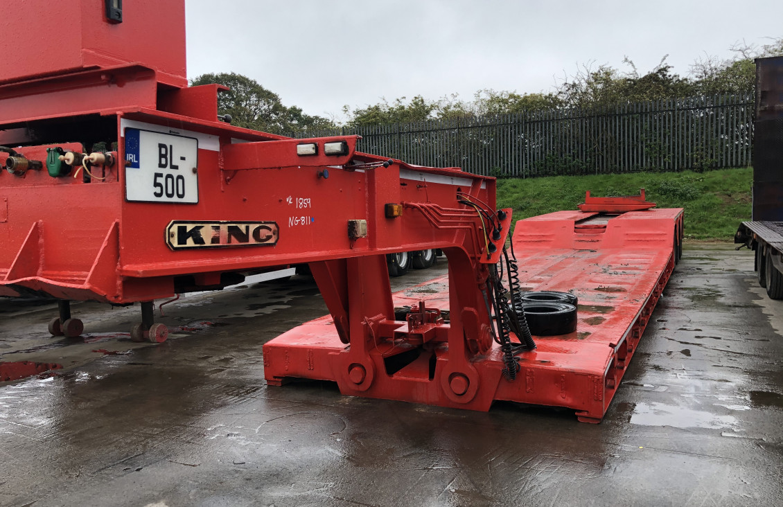Used King GTL 70 low bed 3 axle Trailer for sale on Plantmaster UK