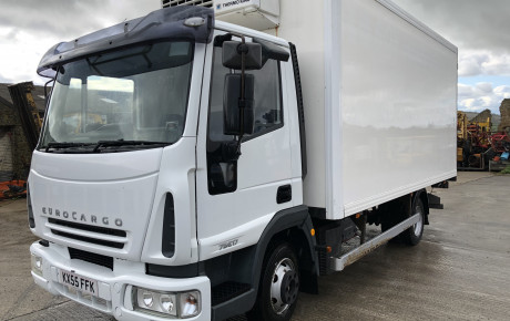 Iveco 75E17 ,7.5 ton fridge truck | uk plant traders