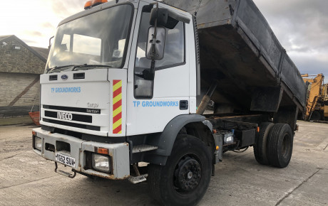 Iveco Tector  180E18 steel body tipper truck | uk plant traders