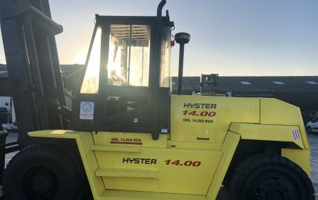 Hyster H14.00XL diesel Forklift | uk planttraders.com