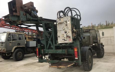 DAF 4×4  Dando water well drill rig | uk planttraders.com