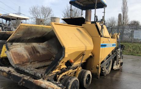 Bitelli BB660 asphalt tarmac paver | uk plant traders
