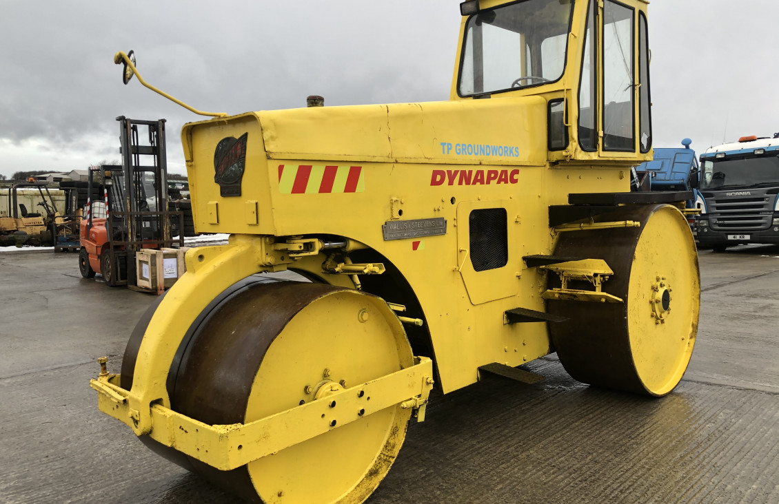 Used Wallis Steven's Dynapac 3 pin dead weight tarmac r for sale on Plantmaster UK