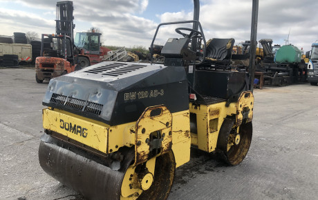Bomag BW120AD-3 double Drum Vibraiting roller | uk plant traders