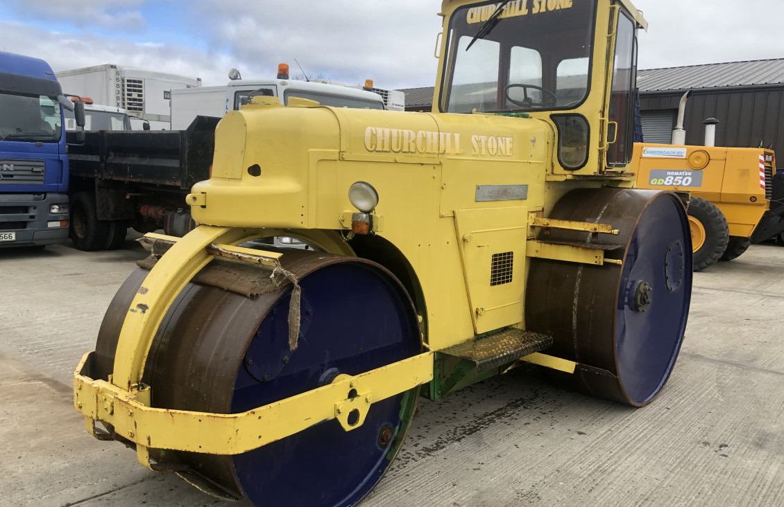 Used Aveling Barford DC12 3 pin dead weight tarmac roll for sale on Plantmaster UK
