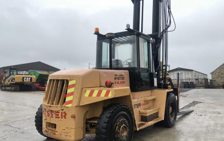 Hyster H14.00XL diesel forklift for sale on | Plantmaster UK