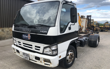Isuzu 75 cab and chassis for sale on Plantmaster UK