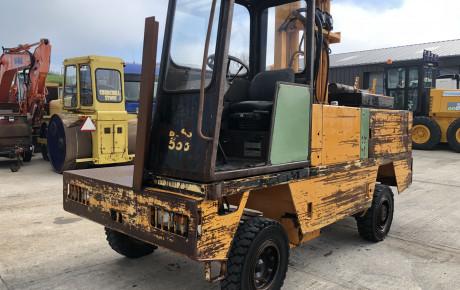 BOSS 556 diesel 5 ton Sideloader forklift for sale on Plantmaster UK