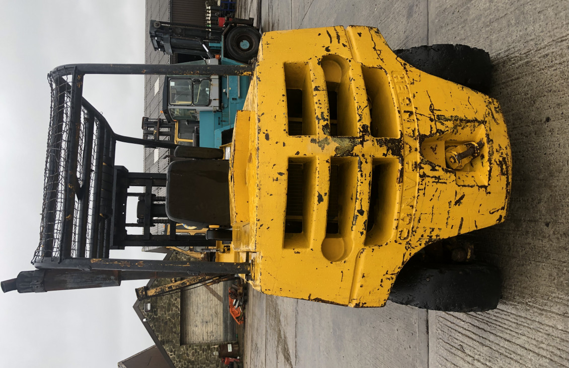 Used Coventry Climax 4 ton diesel forklift for sale on Plantmaster UK