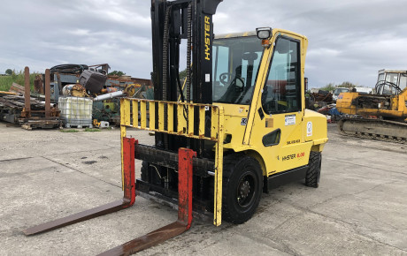 Hyster H6.00XM 6 ton lpg forklift for sale on Plantmaster UK