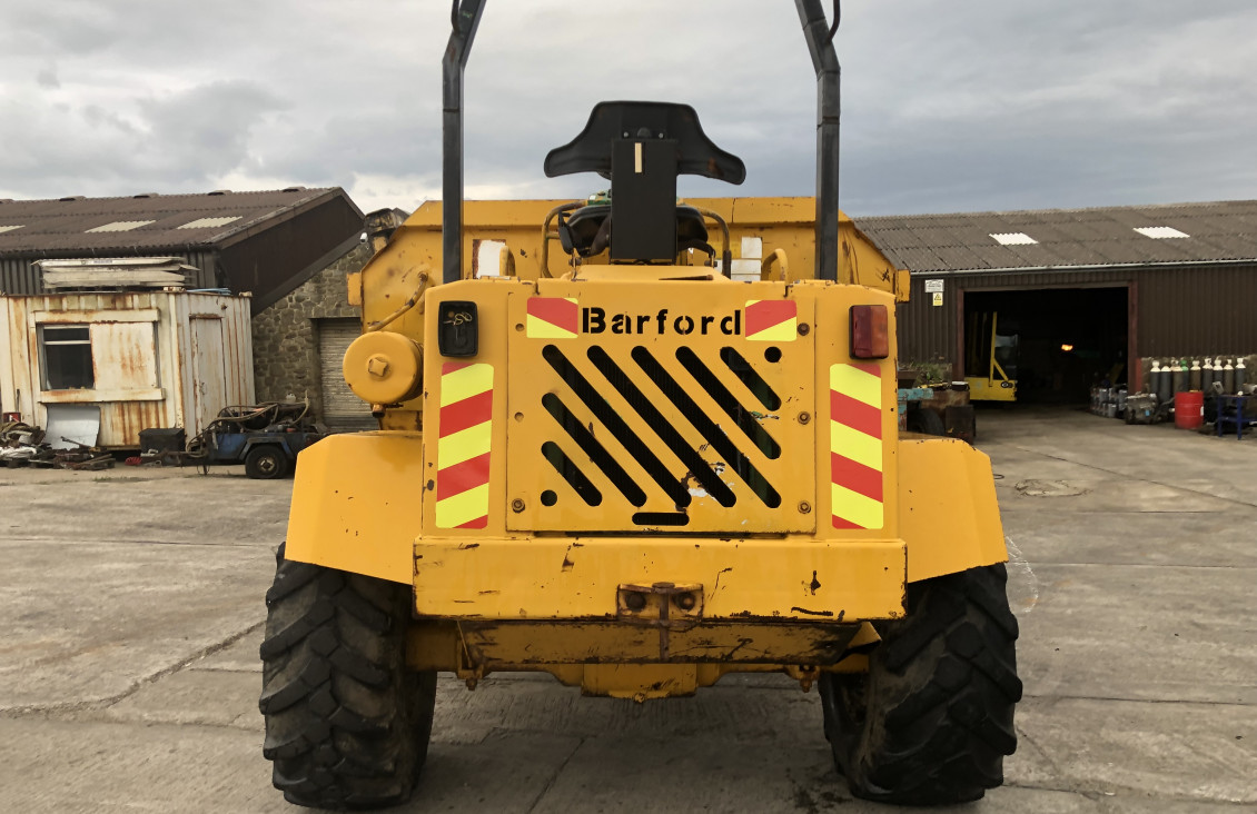Used Barford SX9000 4×4 Site Dumper for sale on Plantmaster UK