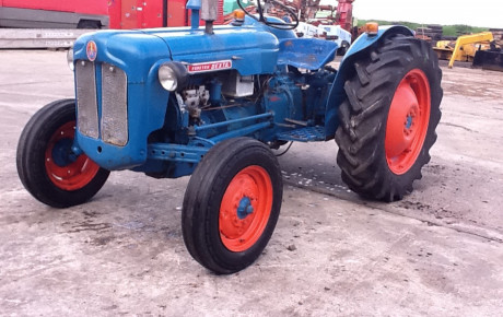 Fordson Dexta ag tractor for sale on Plantmaster UK