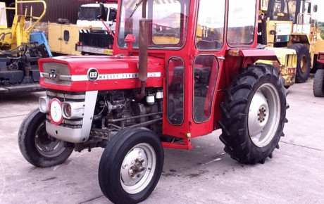 MF 133.  4×2 ag tractor for sale on Plantmaster UK