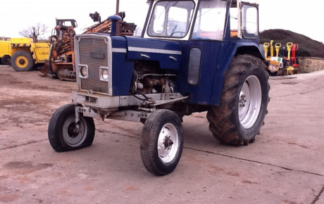 Ebro super major 4×2 ag tractor for sale on Plantmaster UK