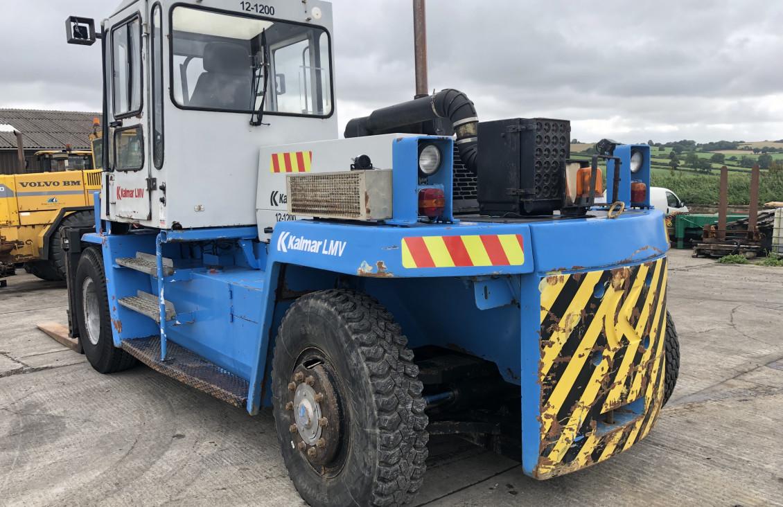 Used Kalmar DCD 12-1200 diesel forklift for sale on Plantmaster UK