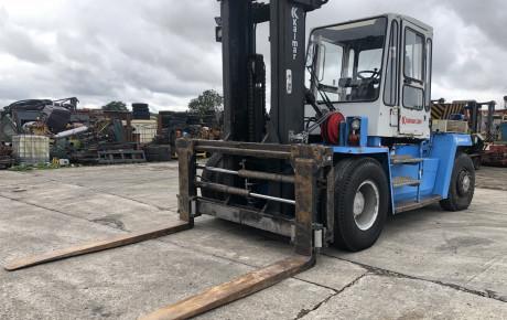 Kalmar DCD 12-1200 diesel forklift for sale on Plantmaster UK