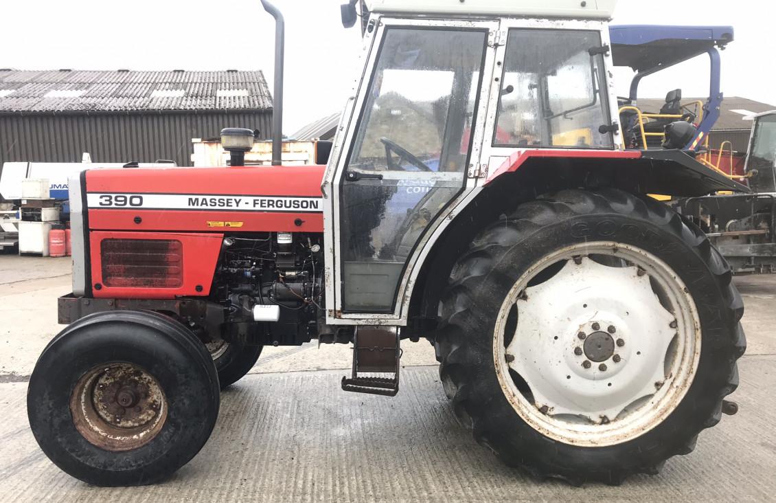 Used Massey Ferguson 390/12 Ag Tractor for sale on Plantmaster UK